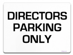 Directors Parking Sign Metal faced | Custom Text | Personalised Name